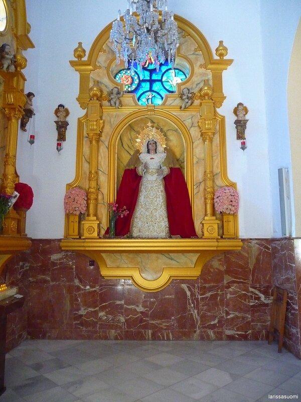 Испания. Фуэнхирола. Церковь Св. Росалио.
