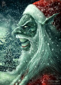Oldies Bad Santa by kerembeyit