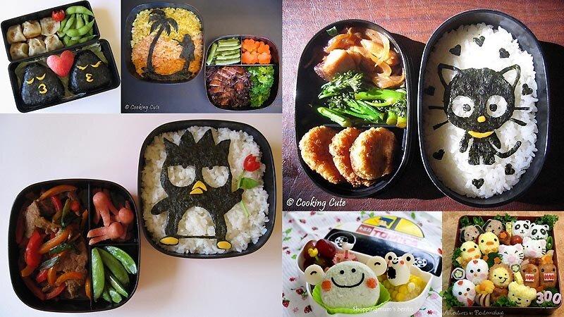 Бэнто / Bento. Японское искусство быстро перекусить красотой.