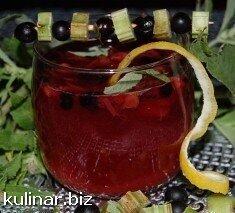 Пряный смородиновый напиток