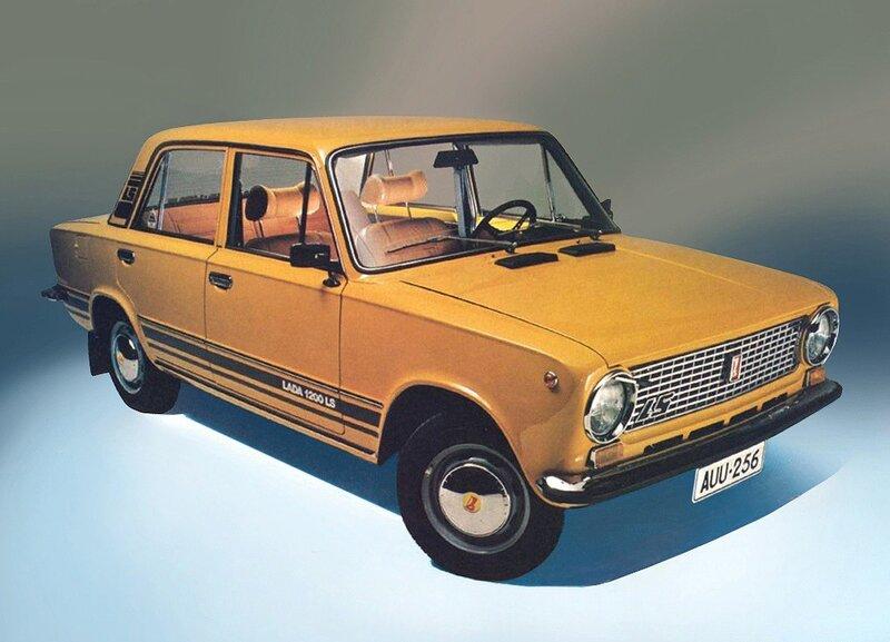 Фото подборка рекламы автомобилей советского производства. Креатив