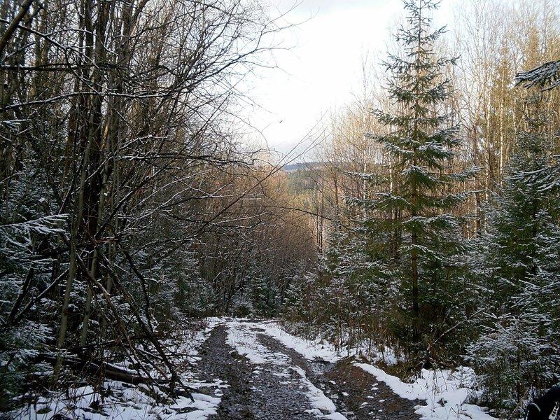 Осенняя дорога в горах