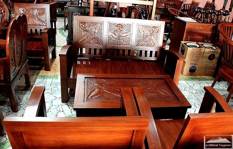 О мебели из тика – интересная информация