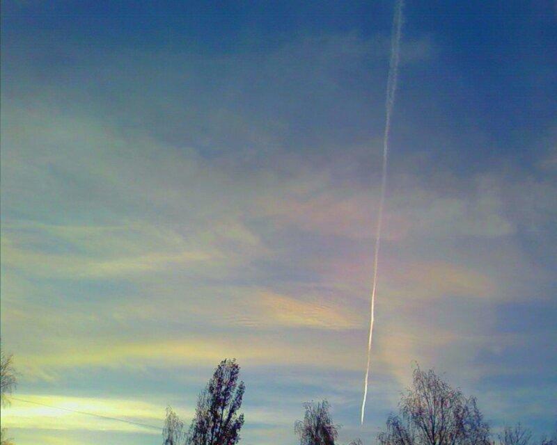 Радужные облака