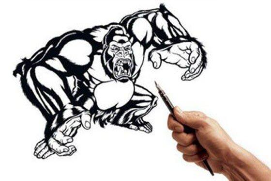 рисующие руки