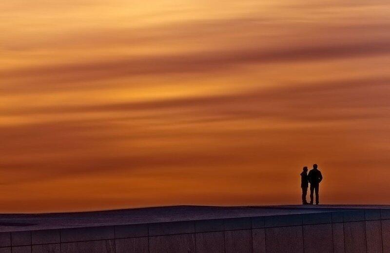 Осло-закат :)