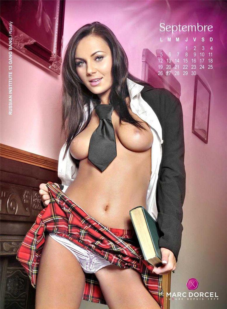 календарь Marc Dorcel 2011 calendar - Nataly / Russian Institute 13 Gang Bang