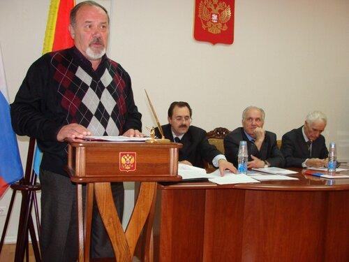 советник председателя Законодательного Собрания Тверской области В.В.Барышев