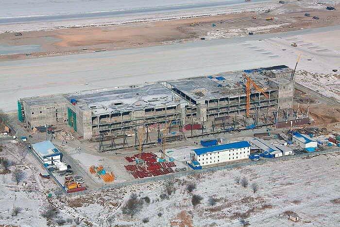 Владивосток - аэропорт к саммиту АТЭС