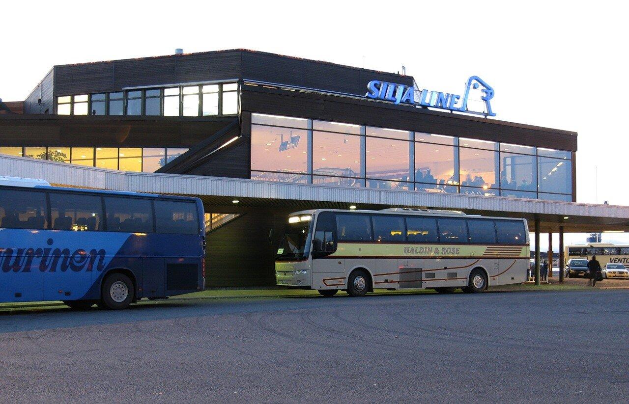 Turku. Silja Line ferry terminal