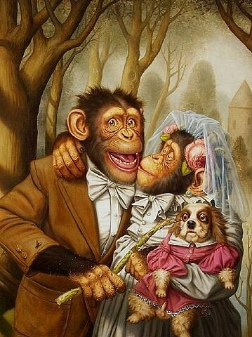 обезьянник by Donald Roller Wilson