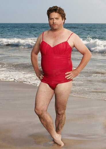Zach Galifianakis Swimsuit Calendar.Фотограф Sam Jones