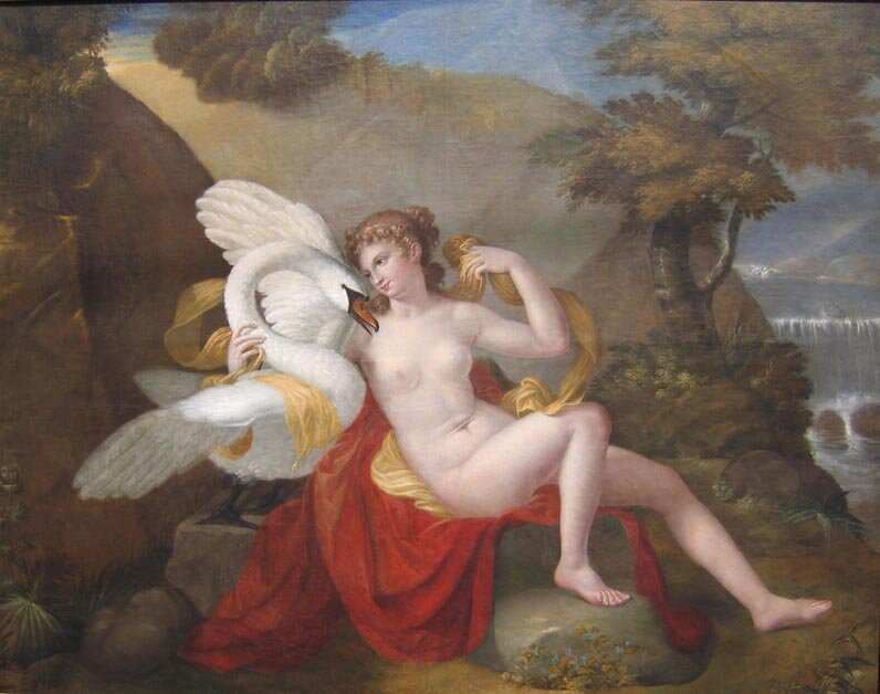 Leda with the Swan Claudio Boltiansky
