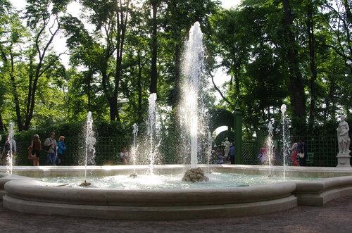 Набережная Фонтанки и Летний сад