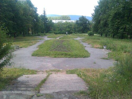 Небольшой парк