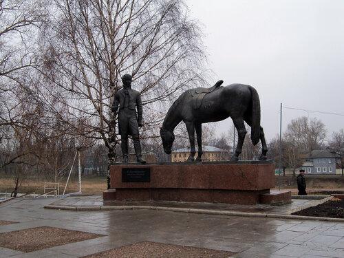 4 ноября 2014. Вологда. Памятник Батюшкову