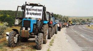 Аграрии Молдовы грозят властям массовой акцией протеста