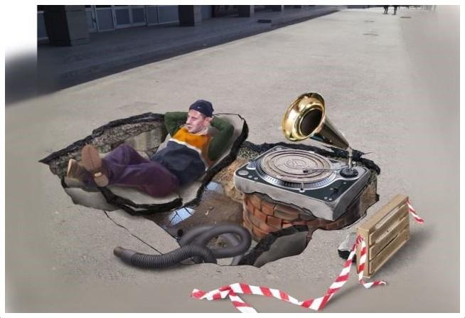 В Волгограде появится 3D-рисунок на асфальте