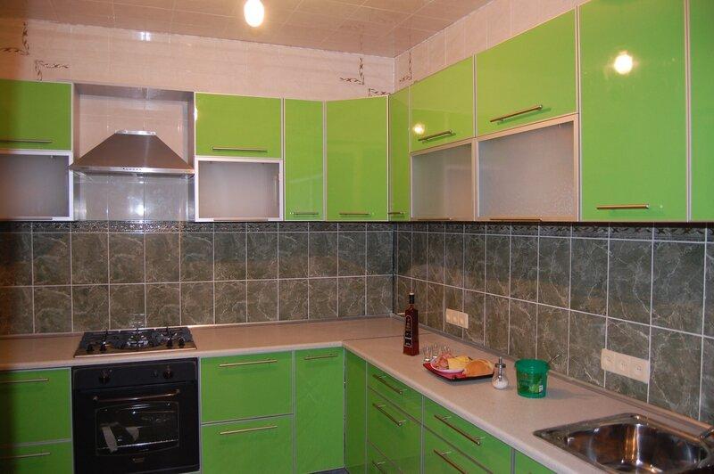 Кухни мдф пластик фото
