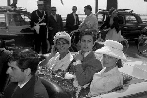 Sophia Loren, Alain Delon, Romy Schneider
