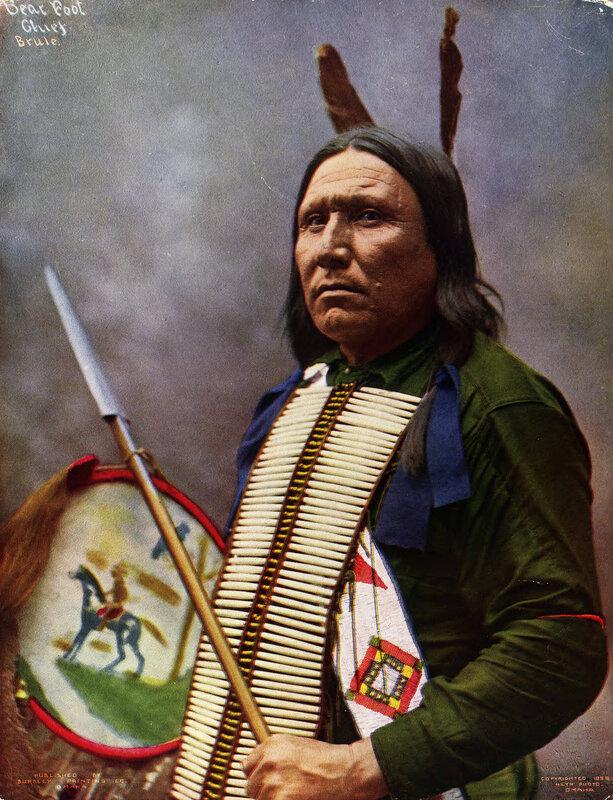 Bear Foot, a Brule Sioux, 1899