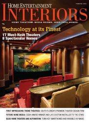 Журнал Home Entertainment Interiors Premierе Issue