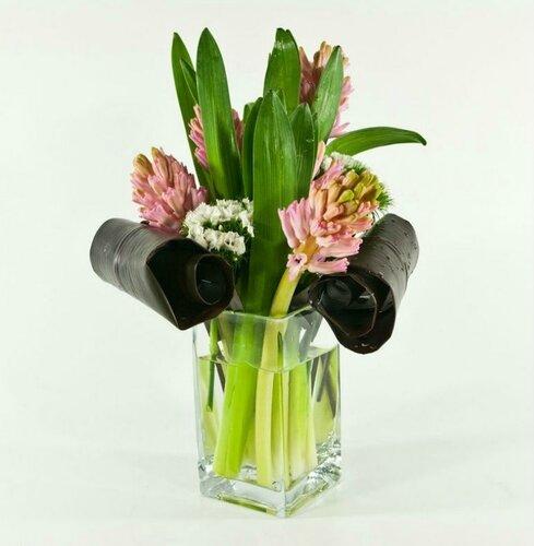 Выбор ваз для цветочных композиций