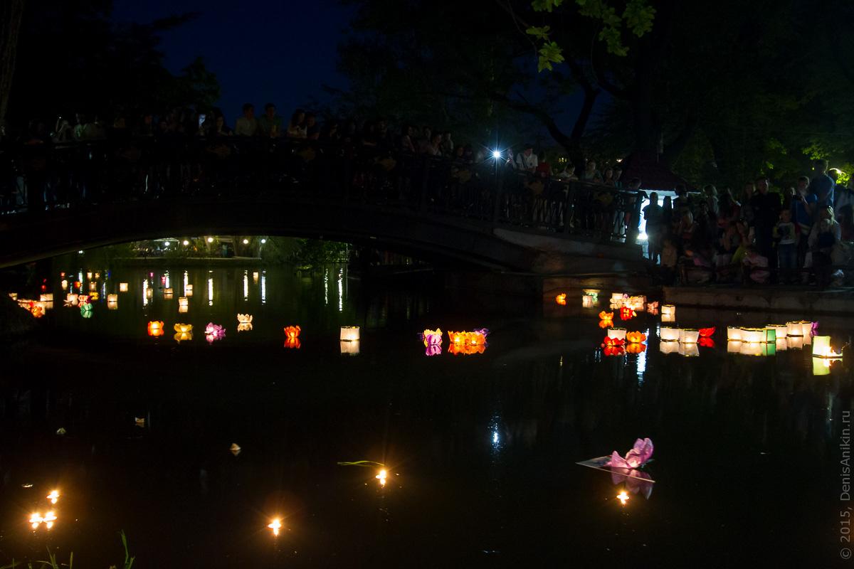 Фестиваль водных фонариков Саратов 4