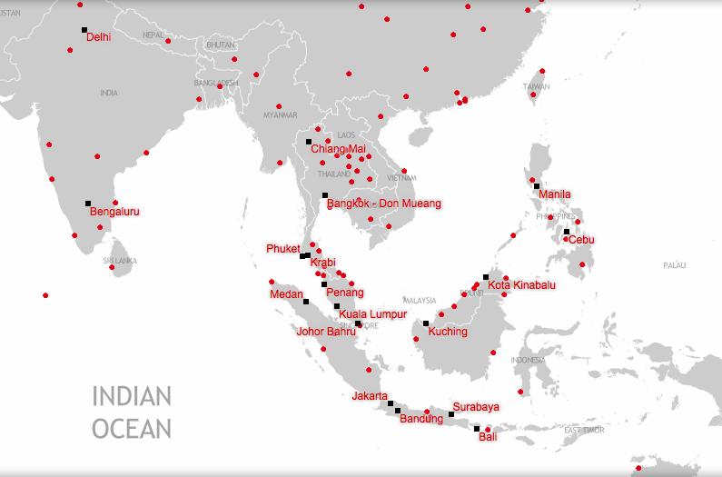 Экономим в путешествии. Копеечные перелеты по Азии