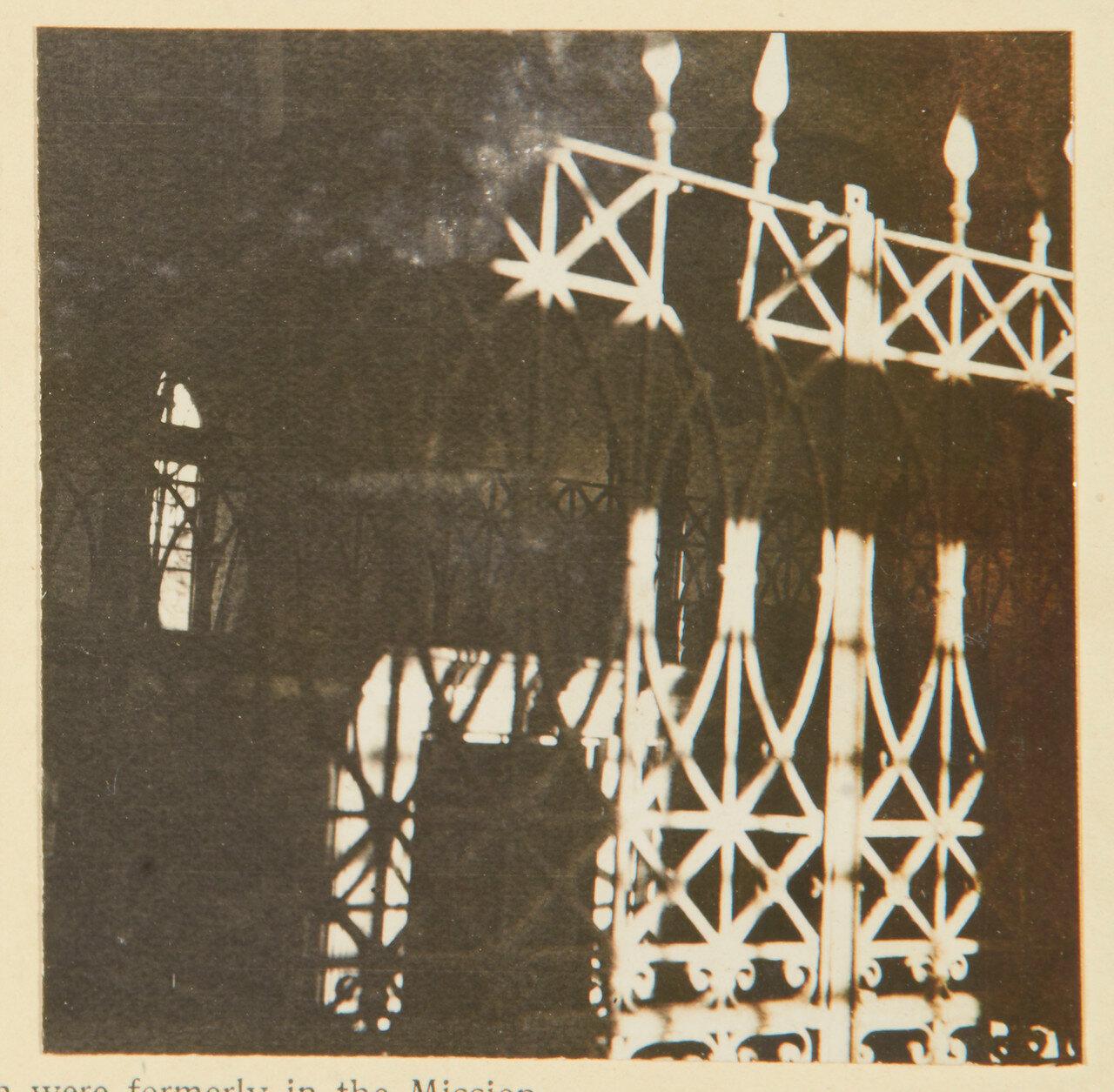 Перила мавзолея Махди, которые были ранее в Церкви Миссии в Хартуме