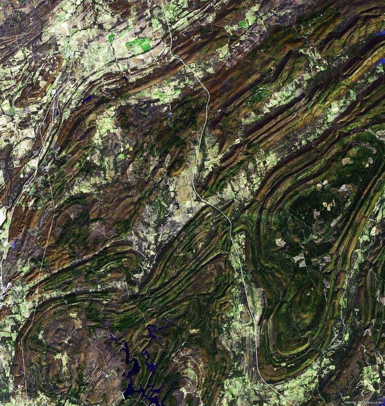 11. Горы Уачита