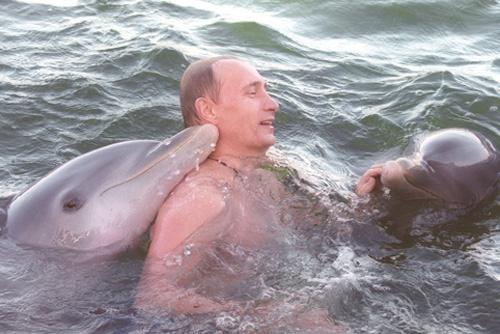 Секс с дельфином путин