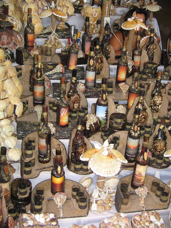 Сувенирные бутылки