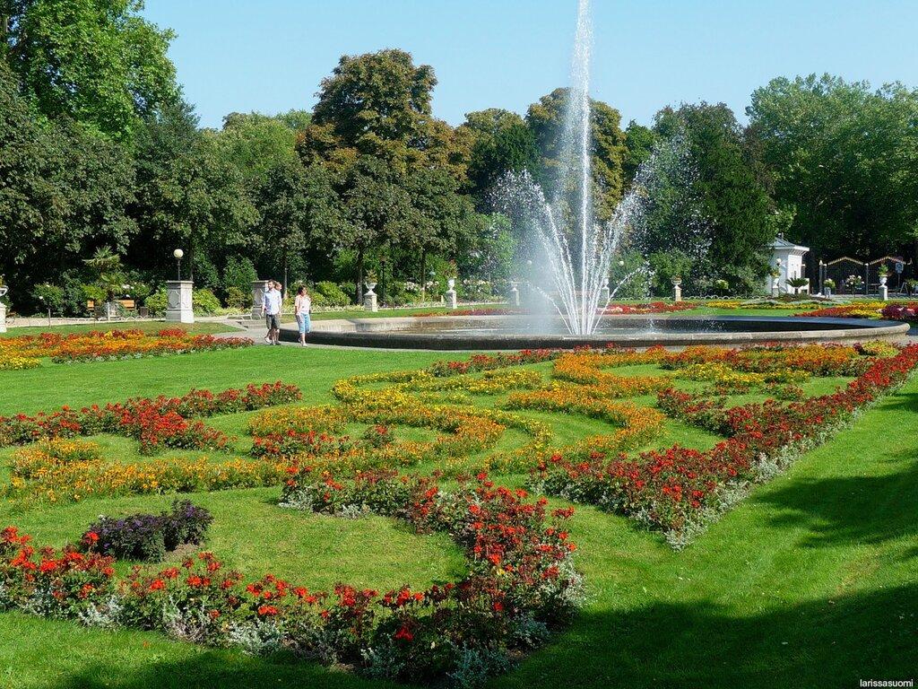 Кёльн. В парке.