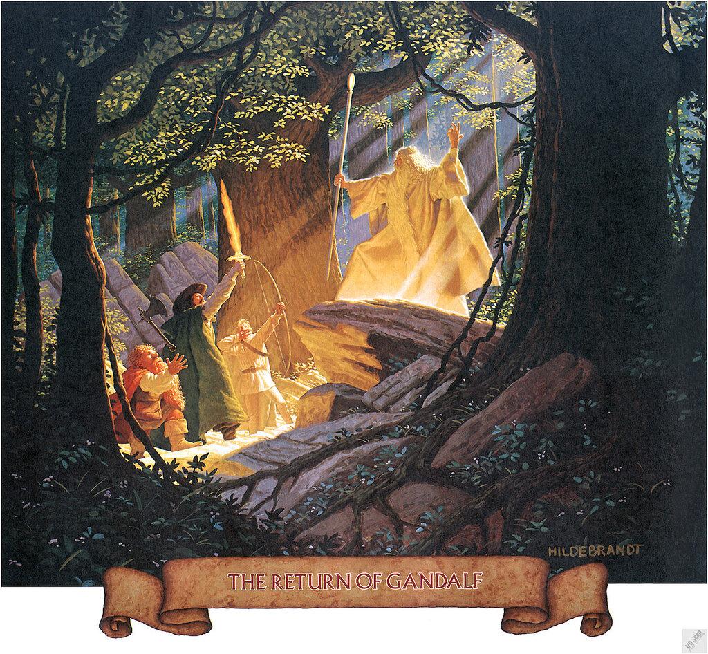 Hildebrandt - The Return Of Gandalf