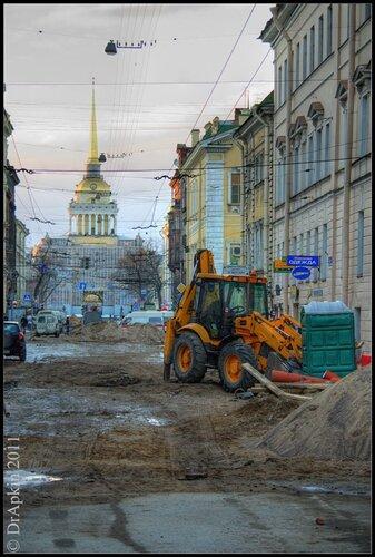 Санкт-Петербург. 2011. Март.