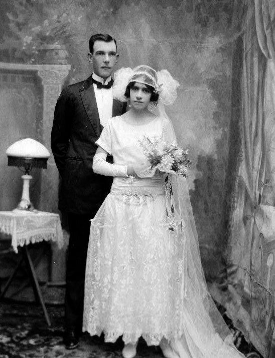 Robe de Style - кринолин 20 - х годов.
