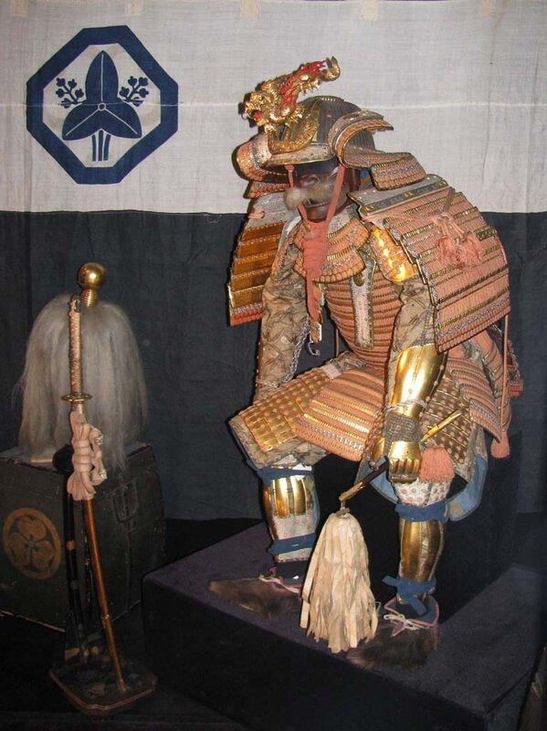 Доспех Токугава Иэясу - реконструкция