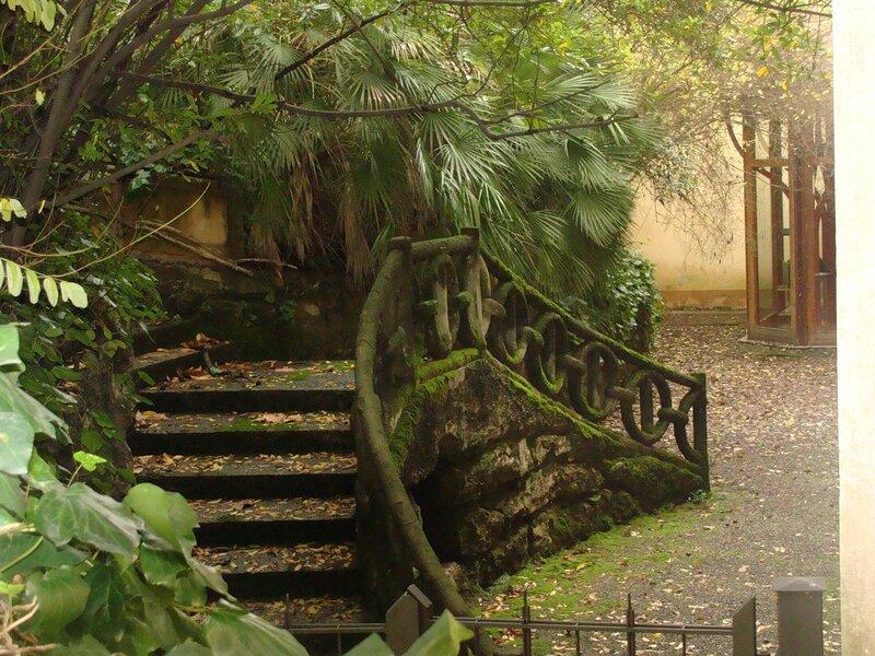 дворик в Монтекатини-Терми
