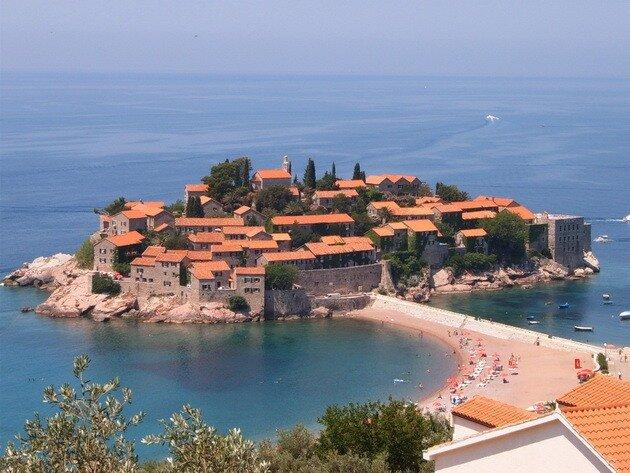 Остров Святого Стефана. Черногория