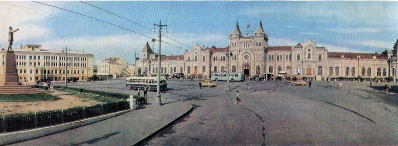Железнодорожный вокзал, 1967 год