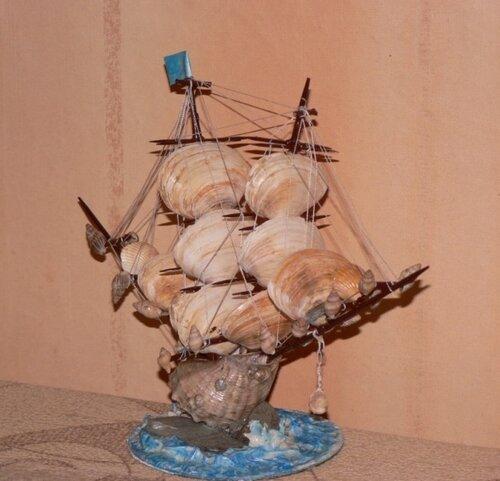 Как сделать корабль из природных материалов - Paket-nn.ru