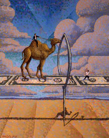 Верблюд и игольные уши
