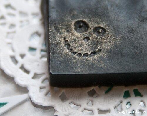 хэллоуин мыло, мыло ручной работы, интересное мыло ручной работы, красивое мыло ручной работы, необычное мыло ручной работы, оригинальное мыло ручной работы, идея, штамп для мыла