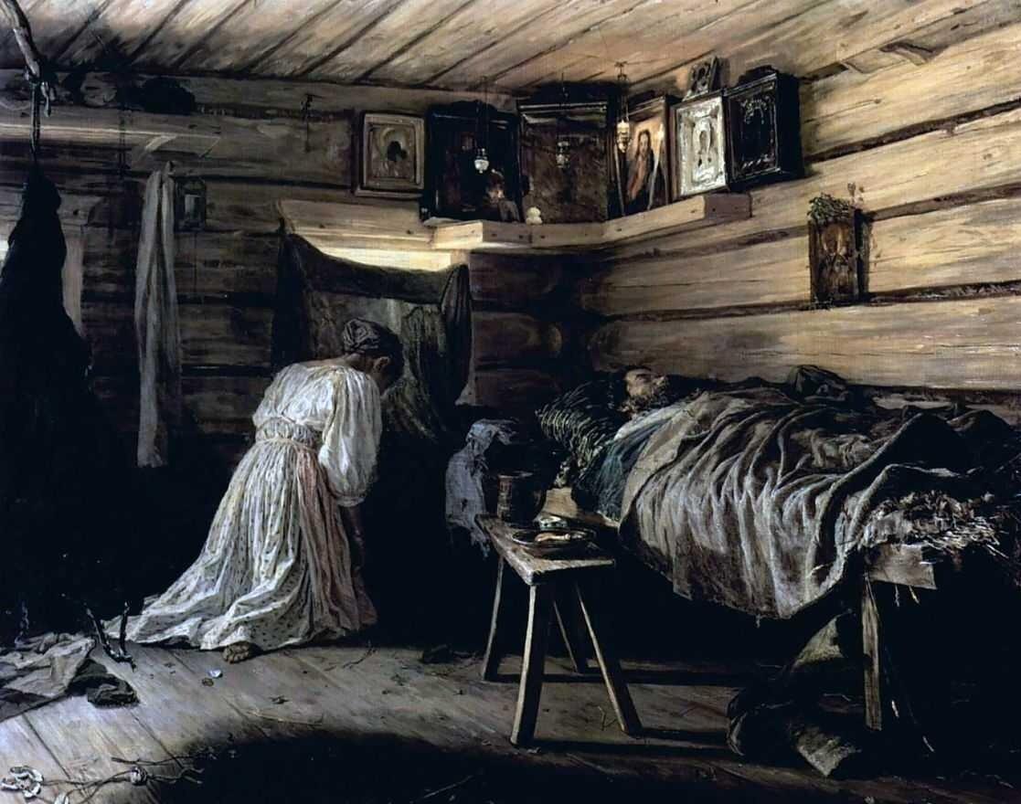 Максимов В. М.,  Больной муж. 1881г.http://www.livejournal.com/
