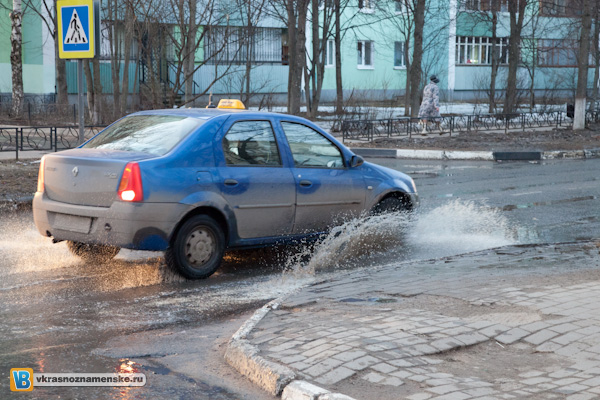 2011.04.05 Потоп в Краснознаменске