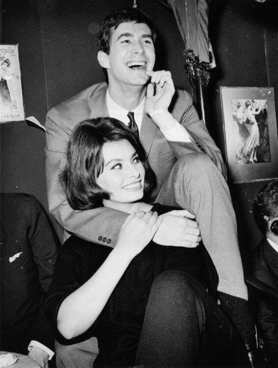 Anthony Perkins & Sophia Loren
