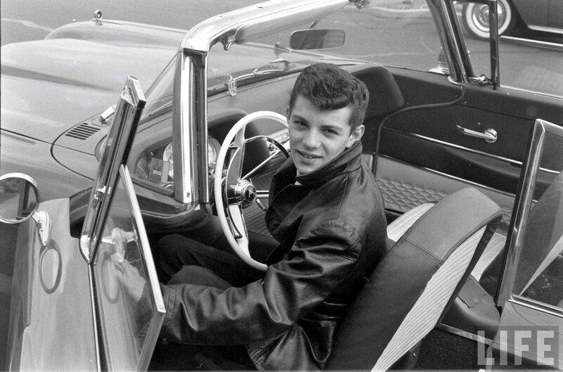 Frankie Avalon T-Bird 1958