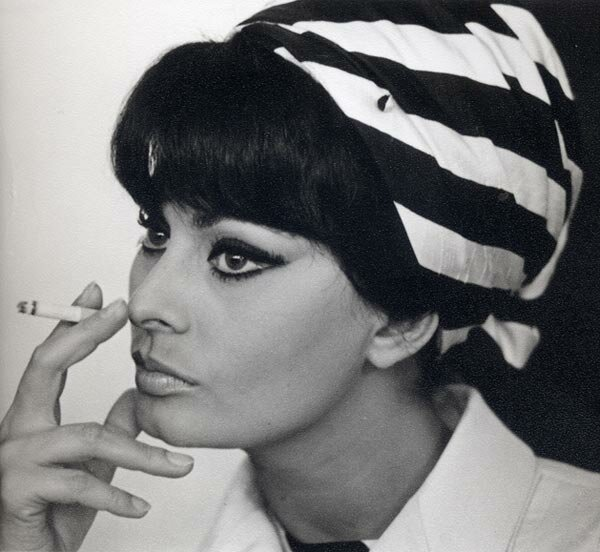 Софи Лорен 1965.фото Валерия Генде-Роте