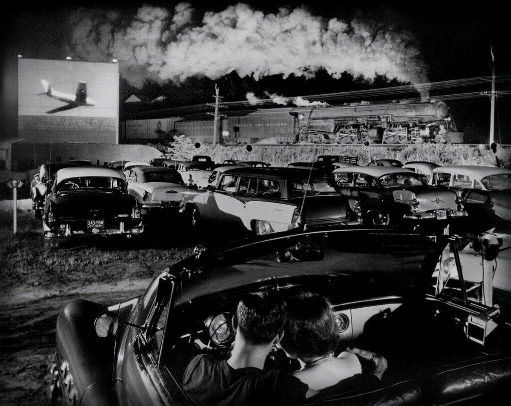 O. Winston Link - Hotshot, Eastbound, Iager, West Virginia, 1956